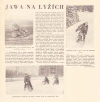 Jawa na lyžích
