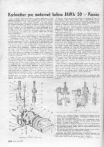 Karburator pre motorove koleso Jawa 50 - Pioner