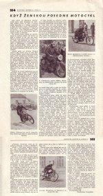 Když ženskou posedne motocykl