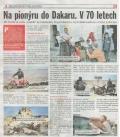 Na pionyru do Dakaru