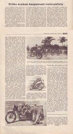 Přilba zvyšuje bezpečnost motocyklisty