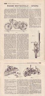 Řízení motocyklu - stopa