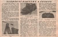 Zlepšení Pionýra a Čezety