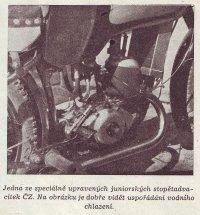 Závodní motor ČZ