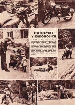 Motocykly v Krkonosich